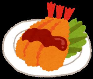エビフライはカロリーは高いが痩せる!ダイエット中もおいしく食べられる高カロリー食品ダイエット!