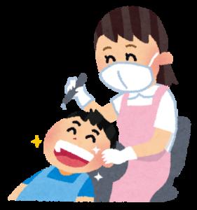 「いらすとやの歯科衛生士のイラストです」歯の健康を保つ新しい乳酸菌、L8020菌。虫歯予防や歯周病予防に効果的!!