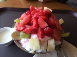 パッピンスとは?かき氷はカロリーは高いがダイエット中に食べてもやせる!