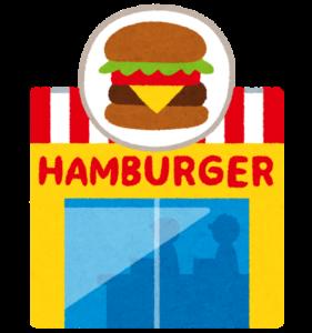 マクドナルドのハンバーガーのカロリー