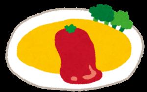 オムライスのカロリー。オムライスが大好き!カロリーは高いがオムライス発祥の店で楽しくダイエット!