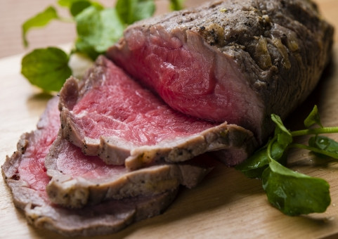 イギリスを代表する料理、ローストビーフ