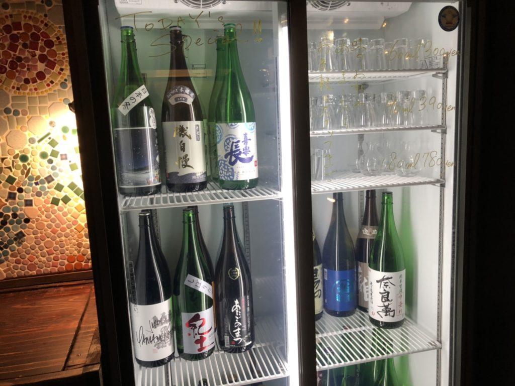 キャンプの日本酒たち