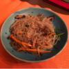チャプチェはカロリーは高いがダイエット中に食べてもやせる!大阪の高麗橋でおいしい韓国料理の店を見つけた!