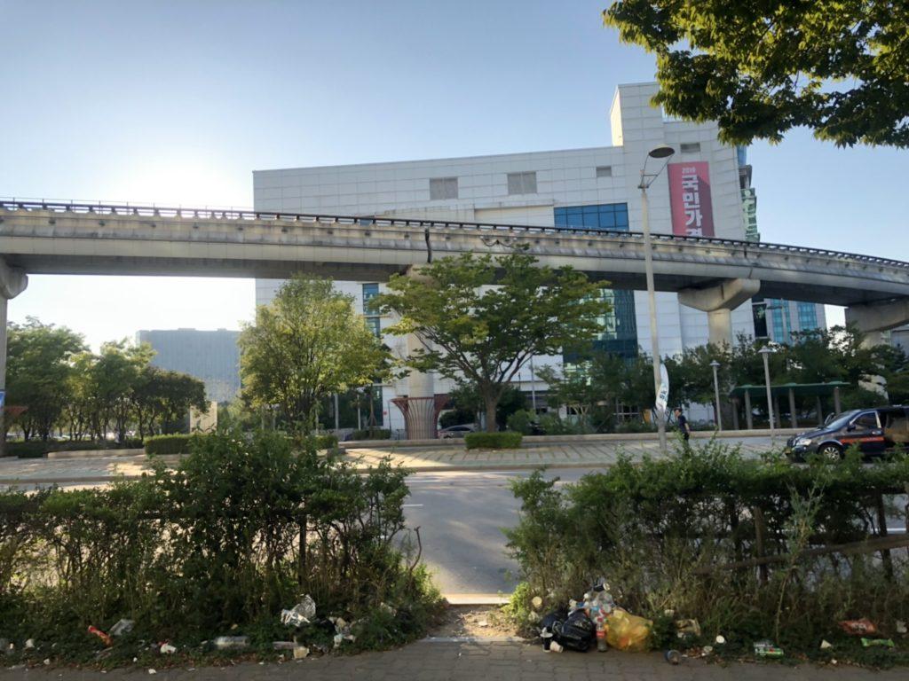 仁川空港の風景写真