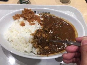 【CoCo壱番屋 EXPASA多賀店限定】近江牛の牛すじ煮込みカレーはカロリーは高いがやせる。ダイエットのコツはがまんしないことです!