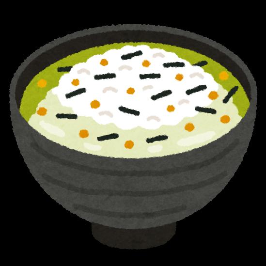 永谷園のお茶漬け海苔のイラスト