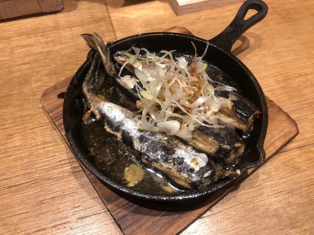 「カタクチ」のオイルサーディンの吟醸香味醤油味