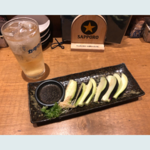 ナスのカロリーは低い!ダイエット中もおいしく食べてダイエット!大阪上本町の鰯屋 カタクチでおいしい水ナスを食べてきたよ^^